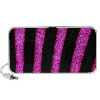 Zebra Skin Travelling Speakers