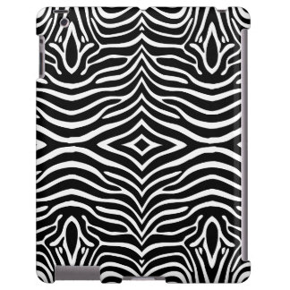 Zebra Skin Style Pattern iPad Case