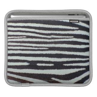 Zebra skin surface iPad sleeve