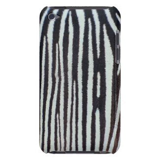 Zebra skin surface iPod touch covers
