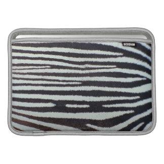 Zebra skin surface MacBook sleeve