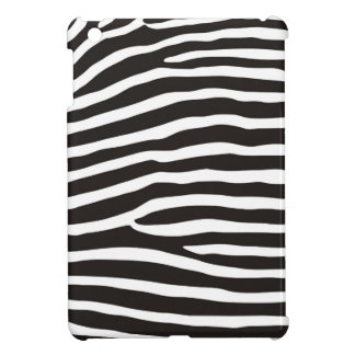 zebra skin texture case iPad mini case