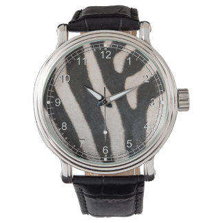 ZEBRA SKIN WRIST WATCHES