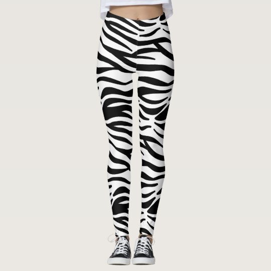 Zebra Skins Leggings
