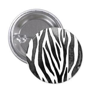 Zebra Small, 1¼ Inch Round Button