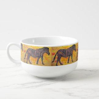 Zebra Soup Mug