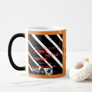 Zebra Squad Empire Heat Sensitive Mug