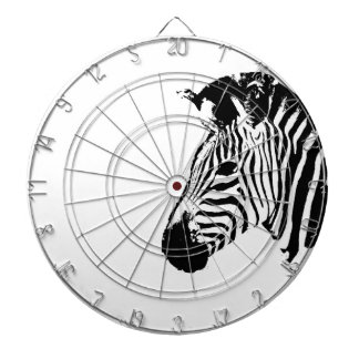 Zebra Stencil Dartboard