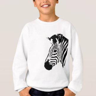Zebra Stencil Sweatshirt