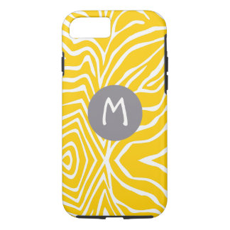 Zebra Stripe Any Color Personalize Monogram iPhone iPhone 7 Case