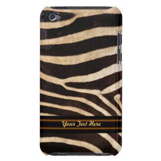Zebra Stripe iPod Touch Case-Mate - Personalize Barely There iPod Case
