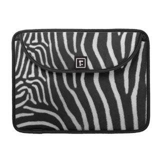 "Zebra Stripe Pattern 13"" MacBook Sleeve"