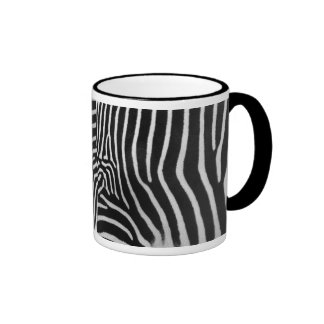 Zebra Stripe Pattern Coffee Mug