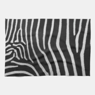 Zebra Stripe Pattern Kitchen Towel