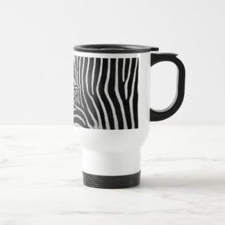 Zebra Stripe Pattern Travel Mug