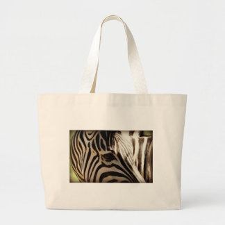 "Zebra ""Stripes"" Canvas Bag"