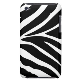 Zebra Stripes Barely There iPod Cases