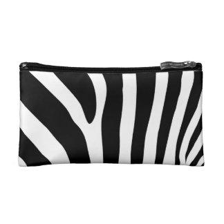 Zebra Stripes Cosmetics Bags