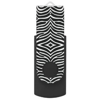 Zebra Stripes Design Flash Drive