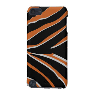 Zebra Stripes in Orange iPod Touch 5G Covers