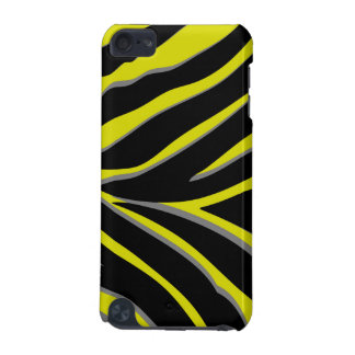 Zebra Stripes in Yellow & Black iPod Touch (5th Generation) Case
