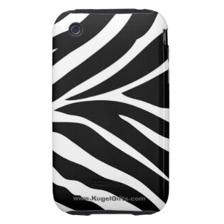 """Zebra Stripes"" iPhone 3 Tough Cases"