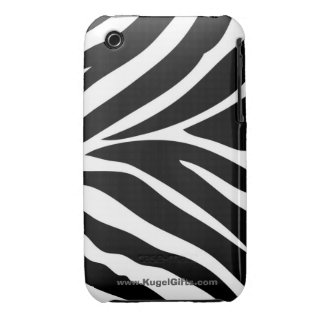"""Zebra Stripes"" iPhone 3G/3GS Barely There Case Case-Mate iPhone 3 Cases"