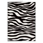 Zebra Stripes Mix & Match Collectables - Card