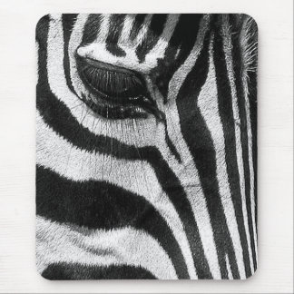 Zebra Stripes Mouse Mat
