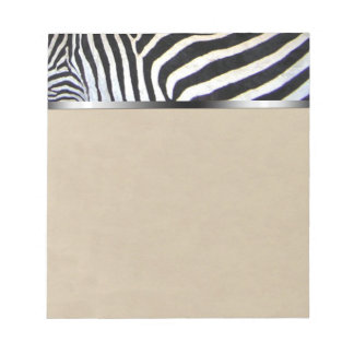 Zebra Stripes Notepad