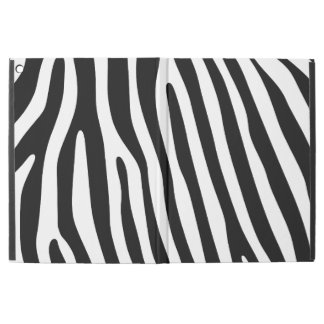 "Zebra stripes pattern + your background & ideas iPad pro 12.9"" case"