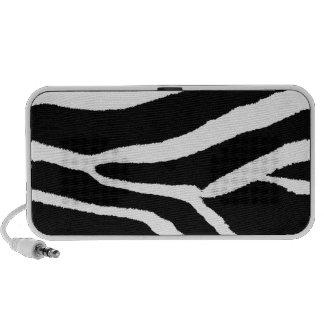 Zebra Stripes iPod Speaker