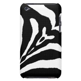 ZEBRA STRIPES TOO! (a black & white design) ~ Barely There iPod Case