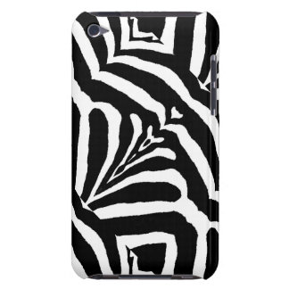 ZEBRA STRIPES TOO! (a black & white design) ~ Barely There iPod Cover