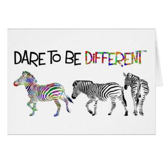 Zebra Studies Birthday Card