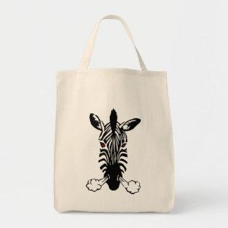 Zebra Canvas Bags