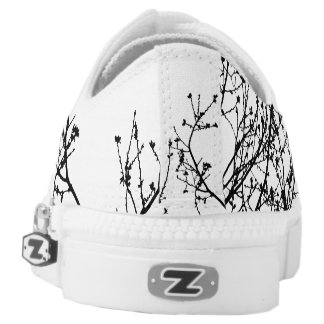 Zebra Tree Low Top Shoes Printed Shoes