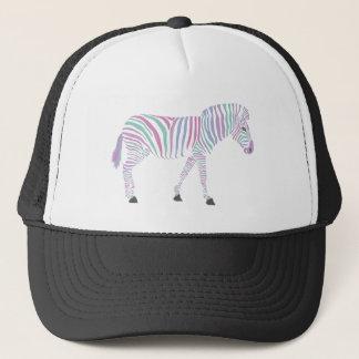 Zebra trucker cap/hat design by MuffinChops Trucker Hat