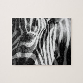 Zebra Up Close Jigsaw Puzzle