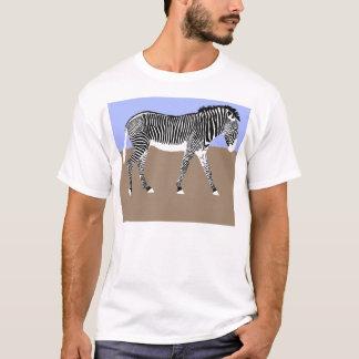zebra walking Apparel T-Shirt