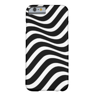 Zebra Wave Pattern Barely There iPhone 6 Case