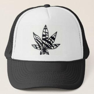 Zebra Weed Trucker Hat
