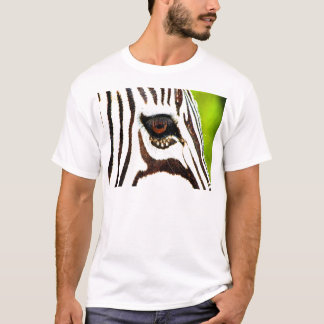 zebra wild animal wildlife namibia safari africa T-Shirt