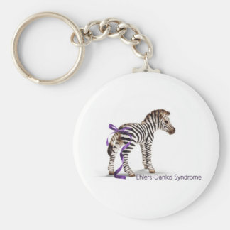 zebra with ribbon large.png basic round button key ring