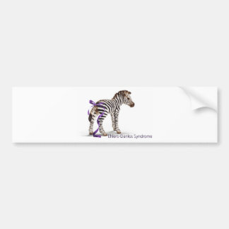 zebra with ribbon large.png car bumper sticker
