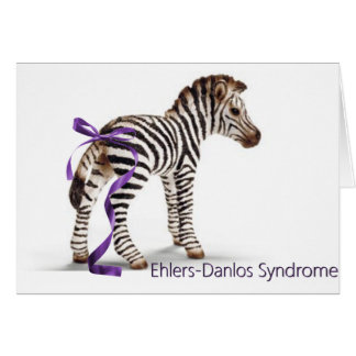 zebra with ribbon large png cards