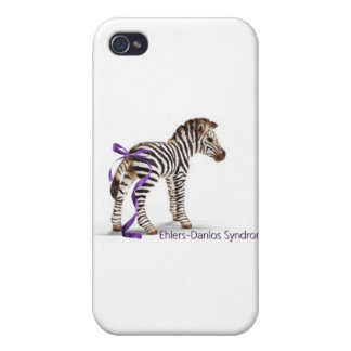 zebra with ribbon large.png cases for iPhone 4