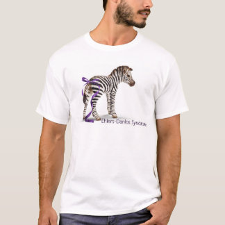 zebra with ribbon large.png T-Shirt