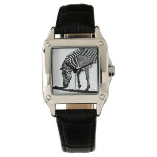 Zebra with Shadow Watch