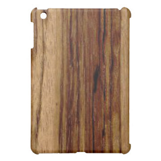 Zebra Wood  Case For The iPad Mini